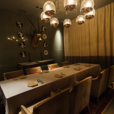 There are also ◎ private rooms for the girls' association and birthday party, compare ♪ We are pleased to inform you of the memorable party in a nice space.Please enjoy the authentic Italian chef whose chef from a famous hotel acts in a fashionable space such as the anniversary of adults and the second party of Wedding.Courses including all-you-can-drink course etc. are abundant according to the scene.