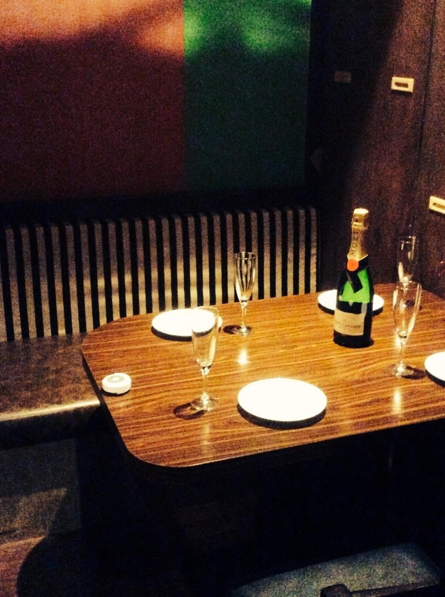 私人房間可供2人入住,非常適合週年紀念等慶祝活動♪請隨時與我們聯繫。