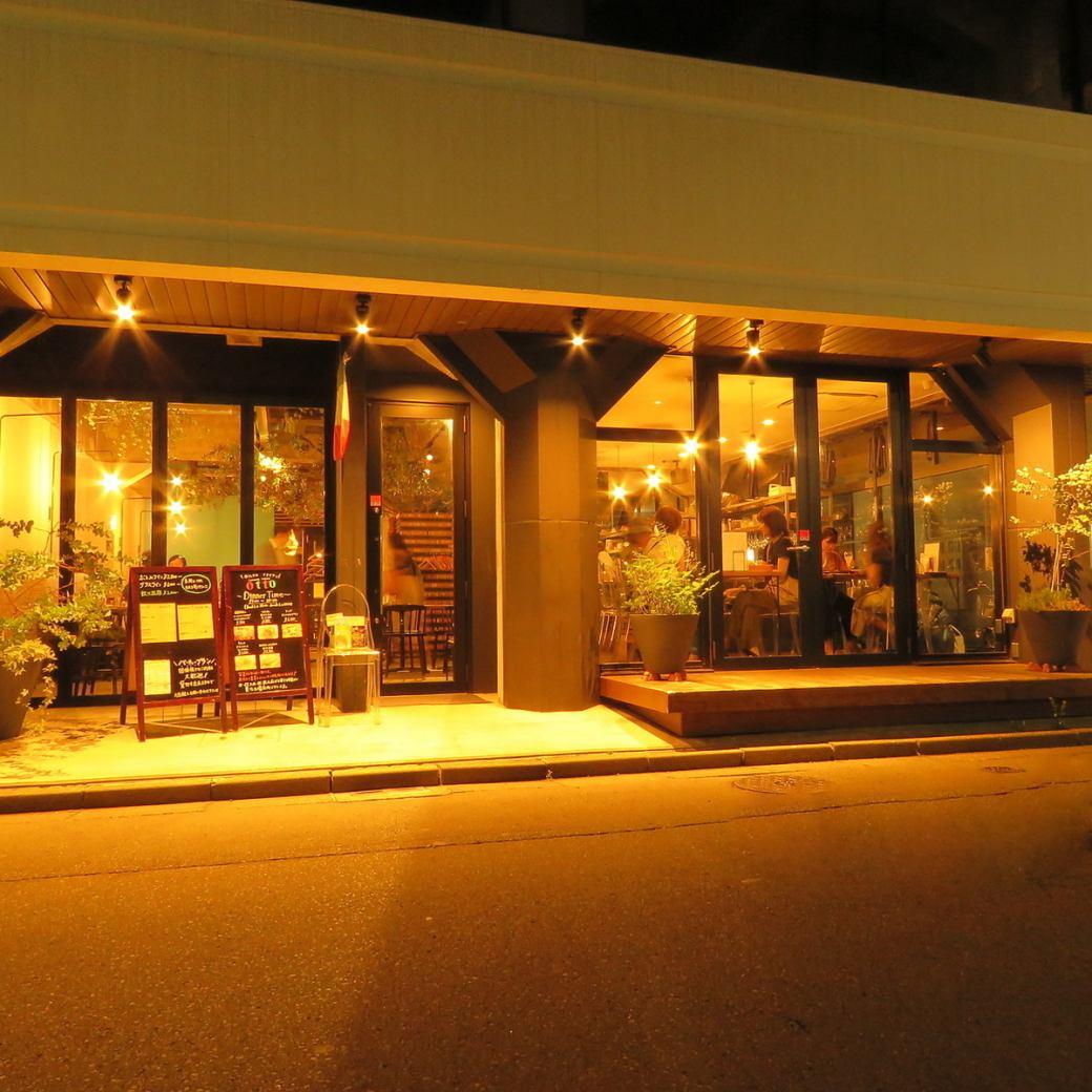 在辣椒的意大利餐館otto新的外觀♪