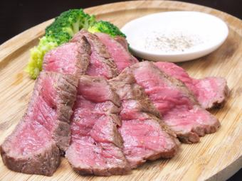 Grilled beef thigh meat