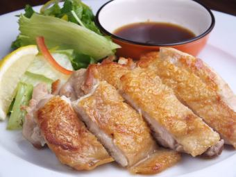 Young chicken with black pepper