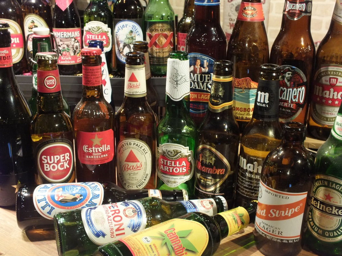 Shops that can drink world beer