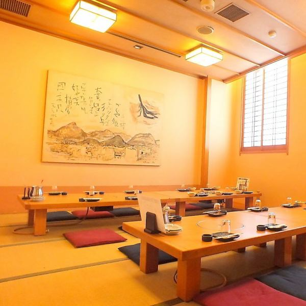 【Banquet hall for up to 100 people is fully equipped!】 Private rooms are available from 3 to 20 people according to your needs.