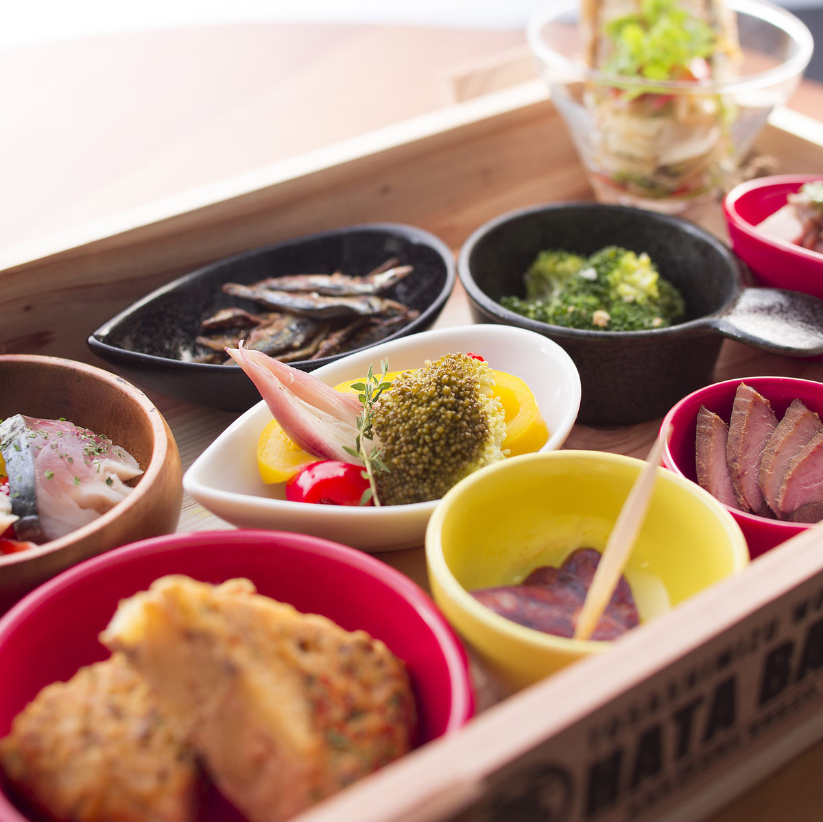 Hata Tapas Assortment (9 varieties)