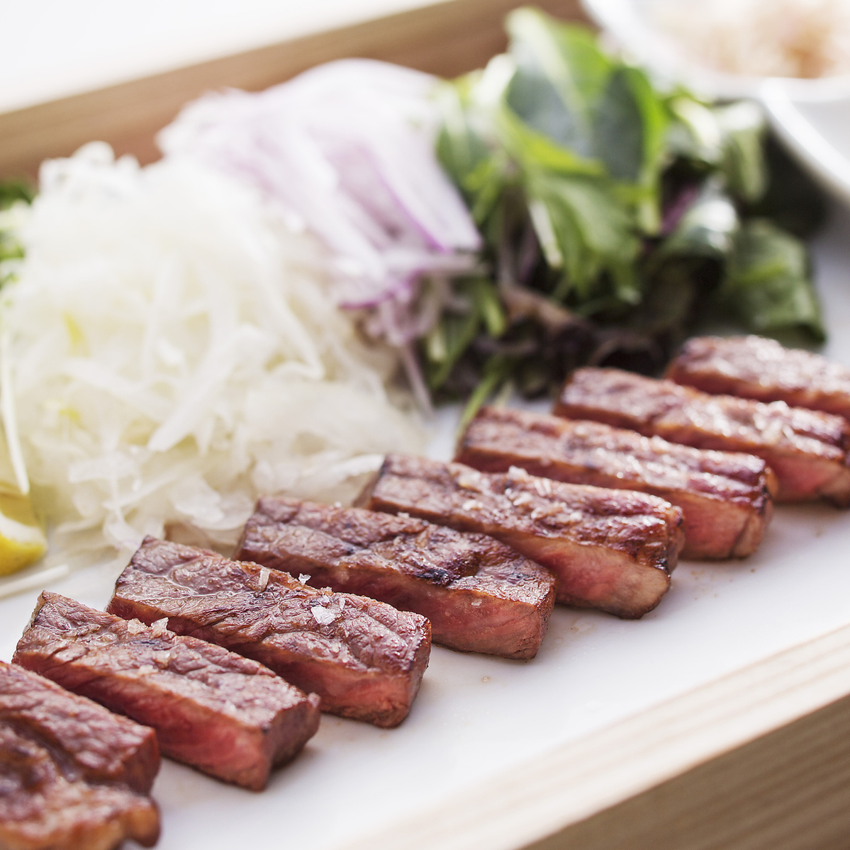Tosa Wagyu's straw-grilled steak