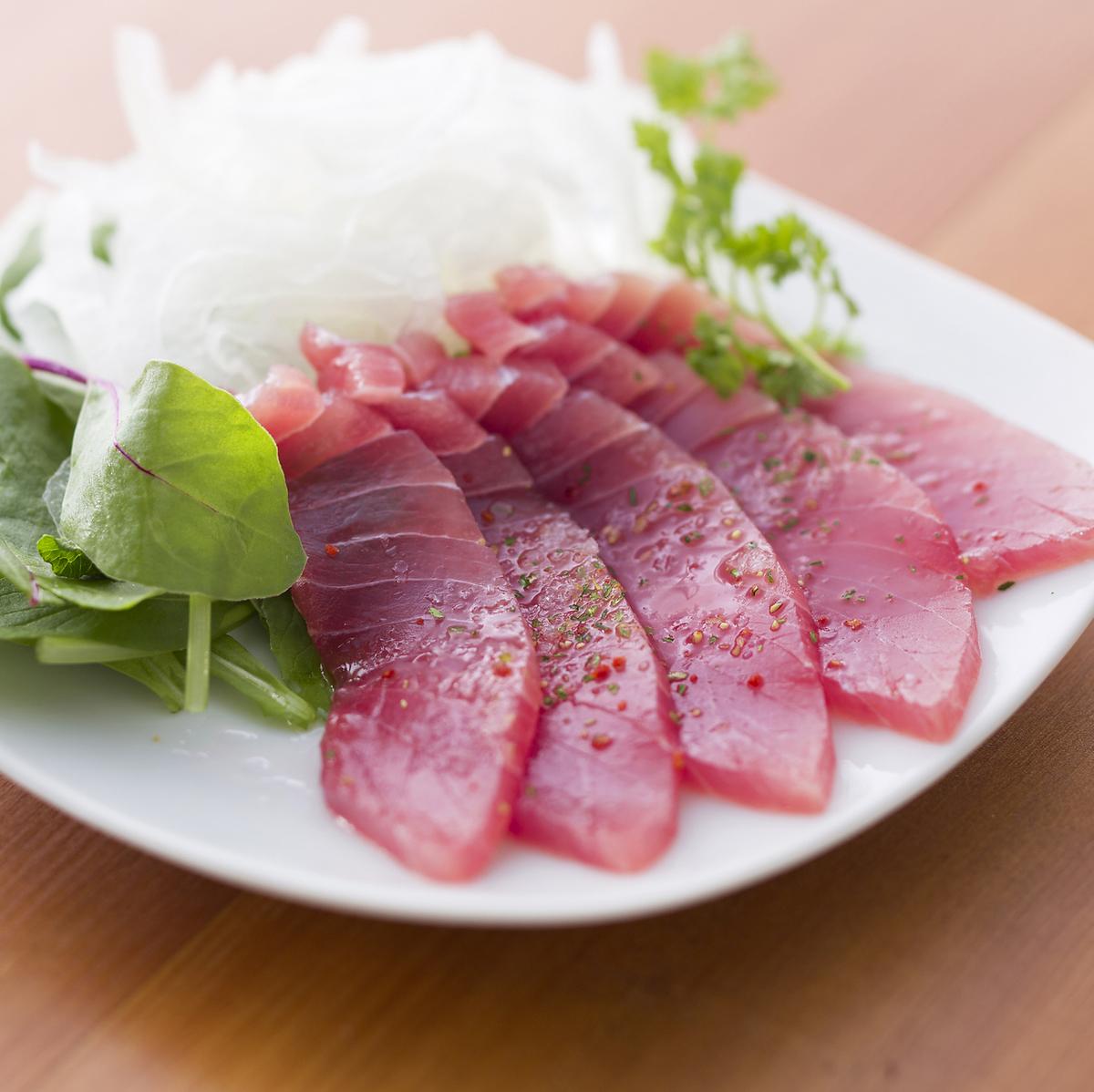 土佐金枪鱼Hararbo小吃生牛肉片