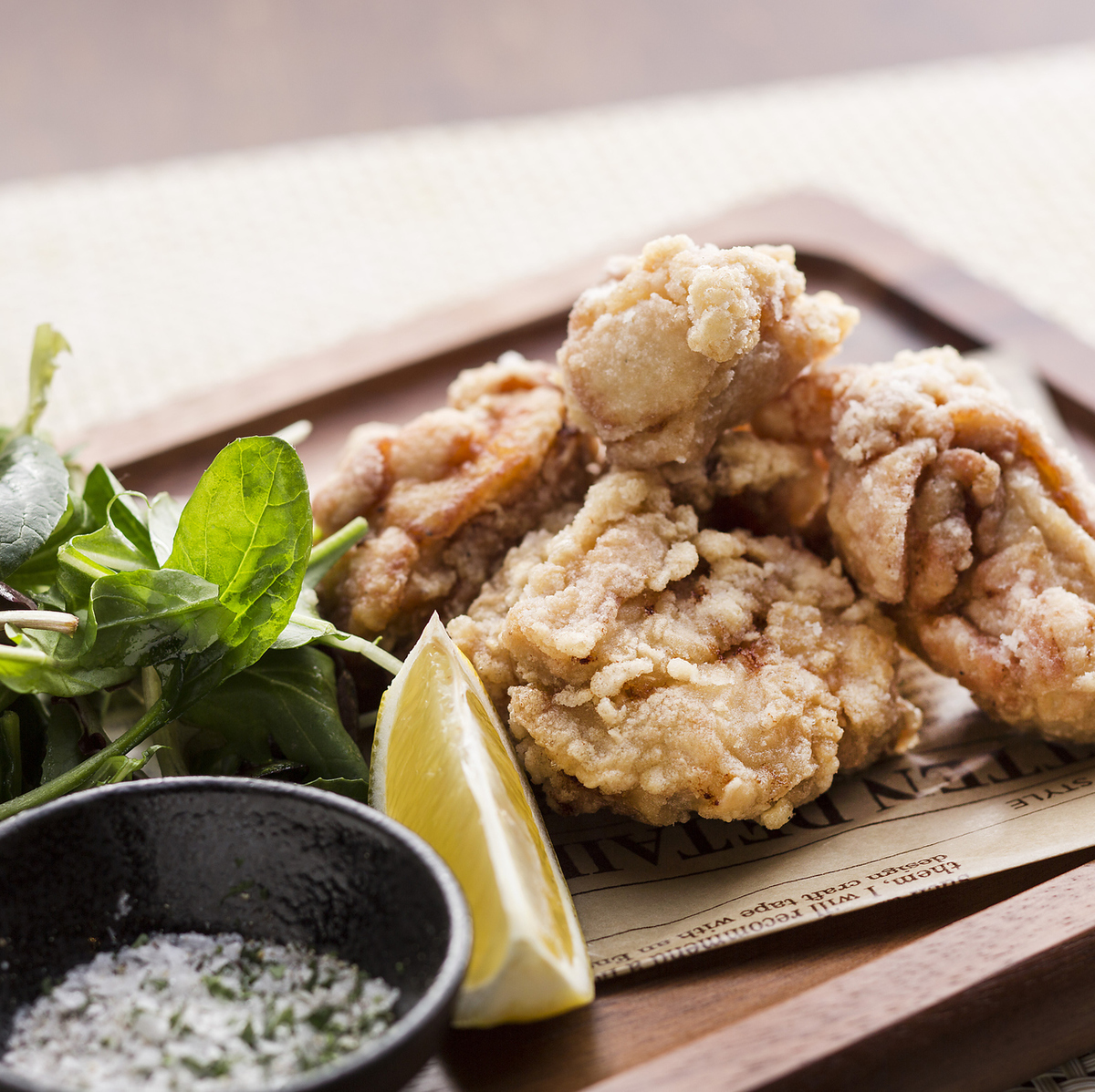 Deep-fried special shrimp chicken