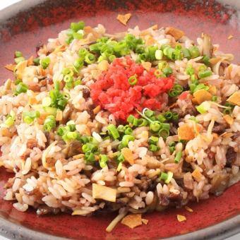 15穀米のガーリックライス
