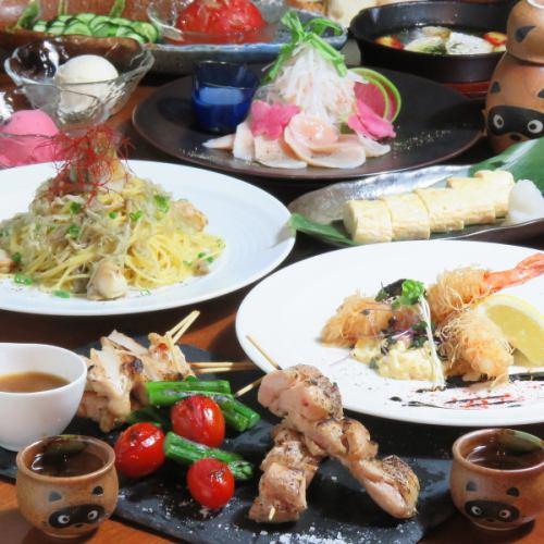 多種多彩の料理をご用意!