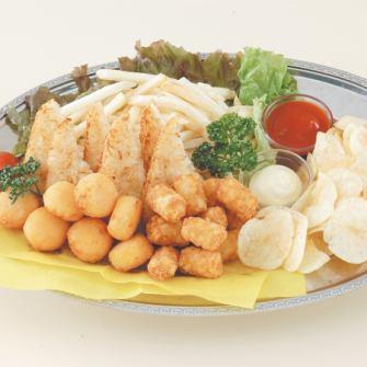 ≪大皿ポテトプレート≫みんなで食べるならコレ!