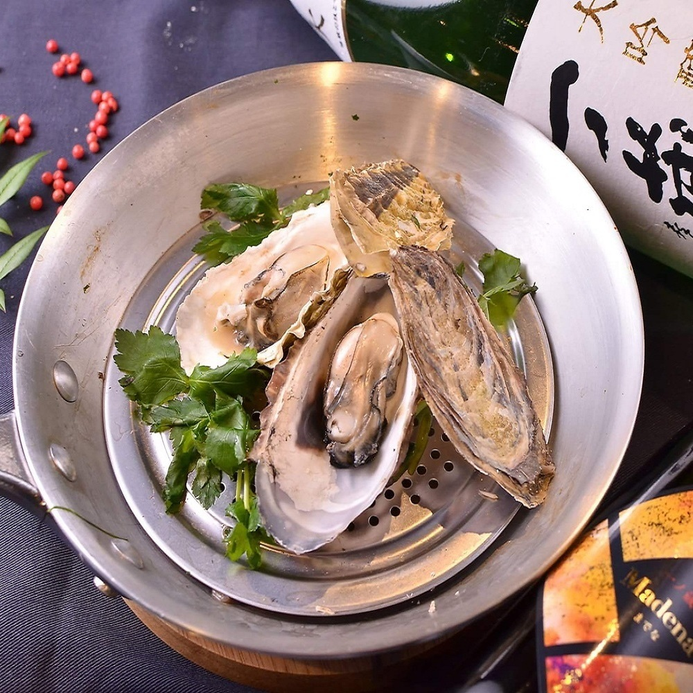 Steamed Sanriku Oyster with Sanoh Odori Rice