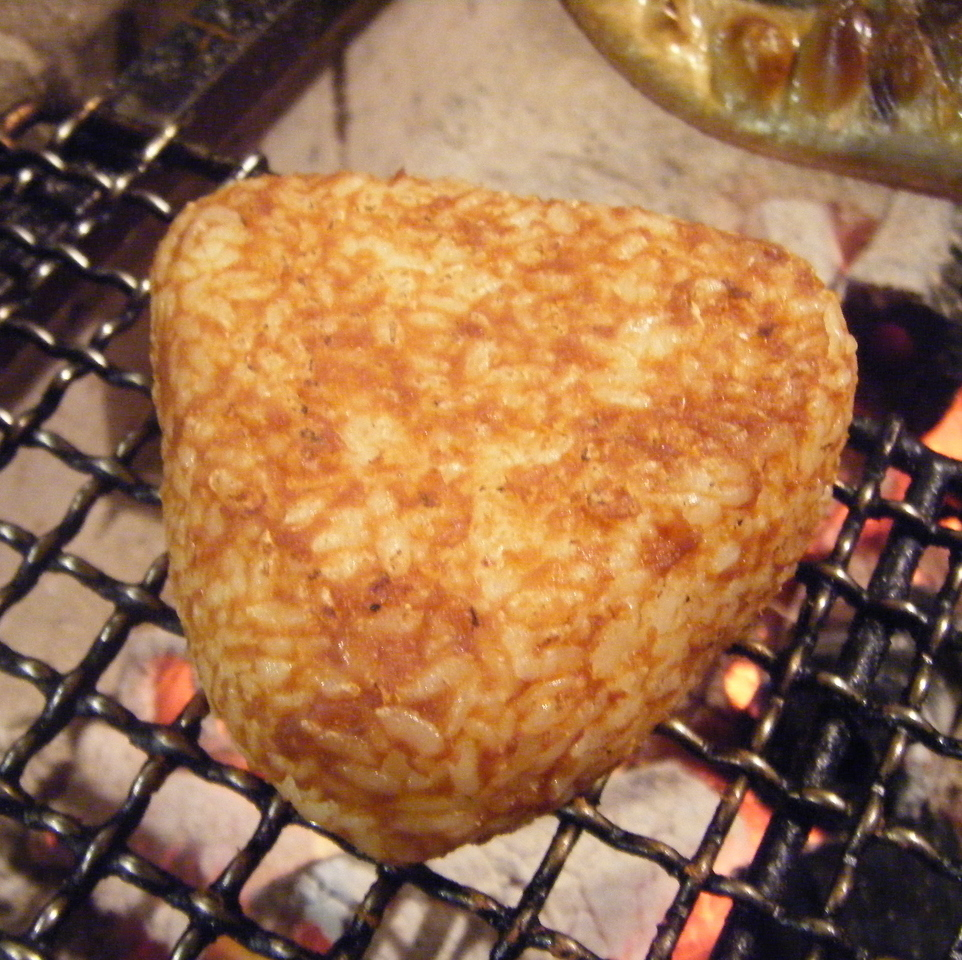Grilled rice ball of Sendai miso (1 piece)