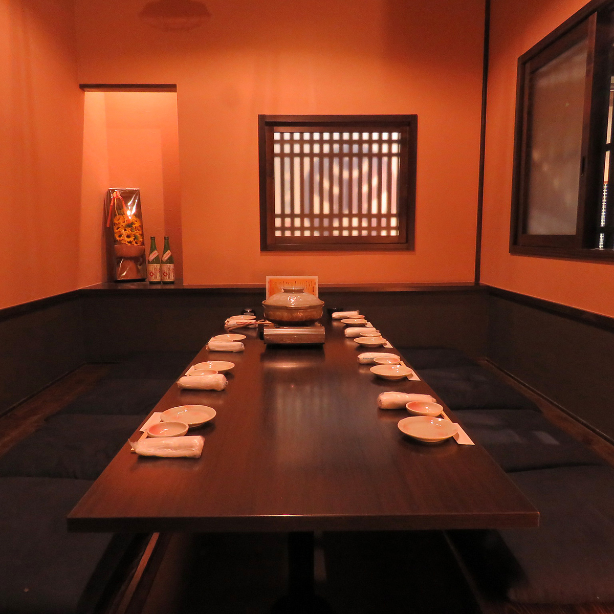 Complet single room digging tatami mat seat 6 ~ 8 people also entertainment use ◎