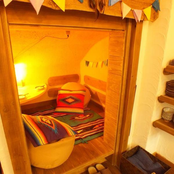受歡迎!!私人房間Kimakura♪推薦像Kanakura的一半房間。當你想喝或保持飲用!!這是一個半私人用餐室,專供2位客人。需要預訂♪為受歡迎的座位♪