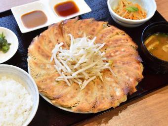 餃子定食(6個・12個・18個)