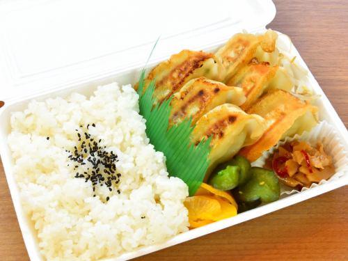 餃子弁当(6個)