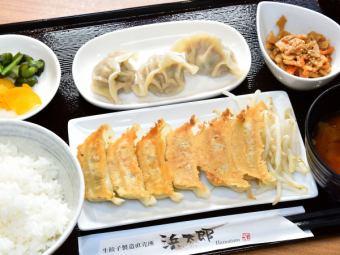 焼・水餃子定食