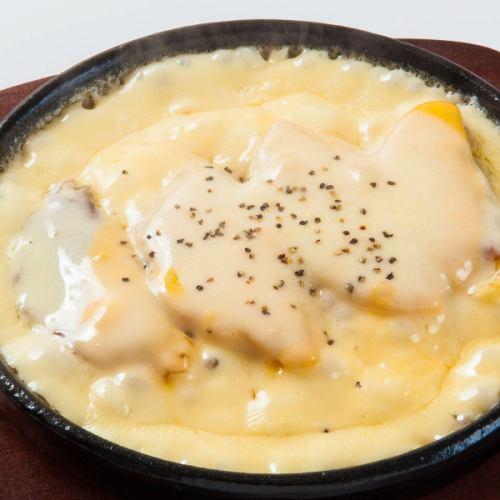 アツアツ!とろ~りチーズ餃子