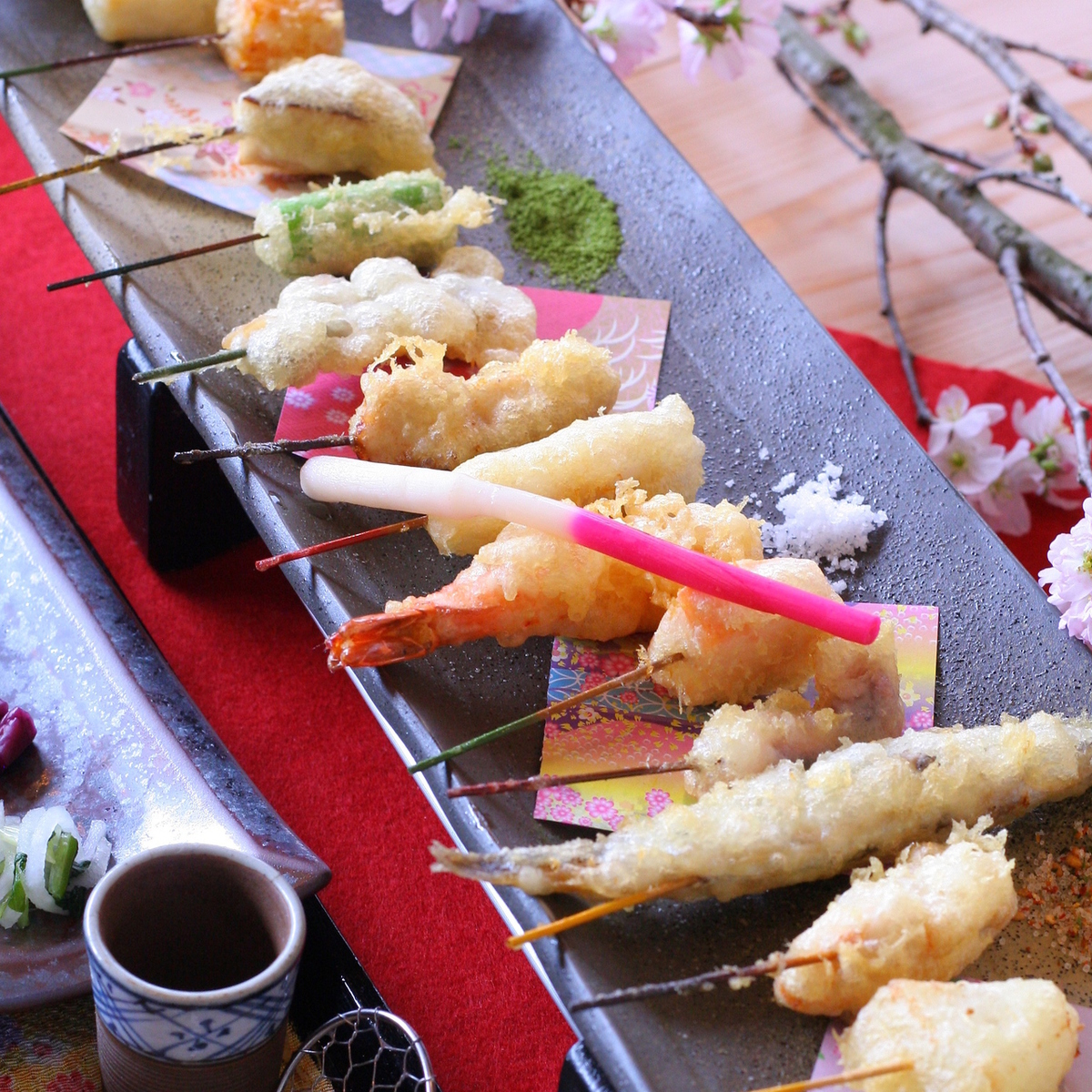 選べる串天ぷら