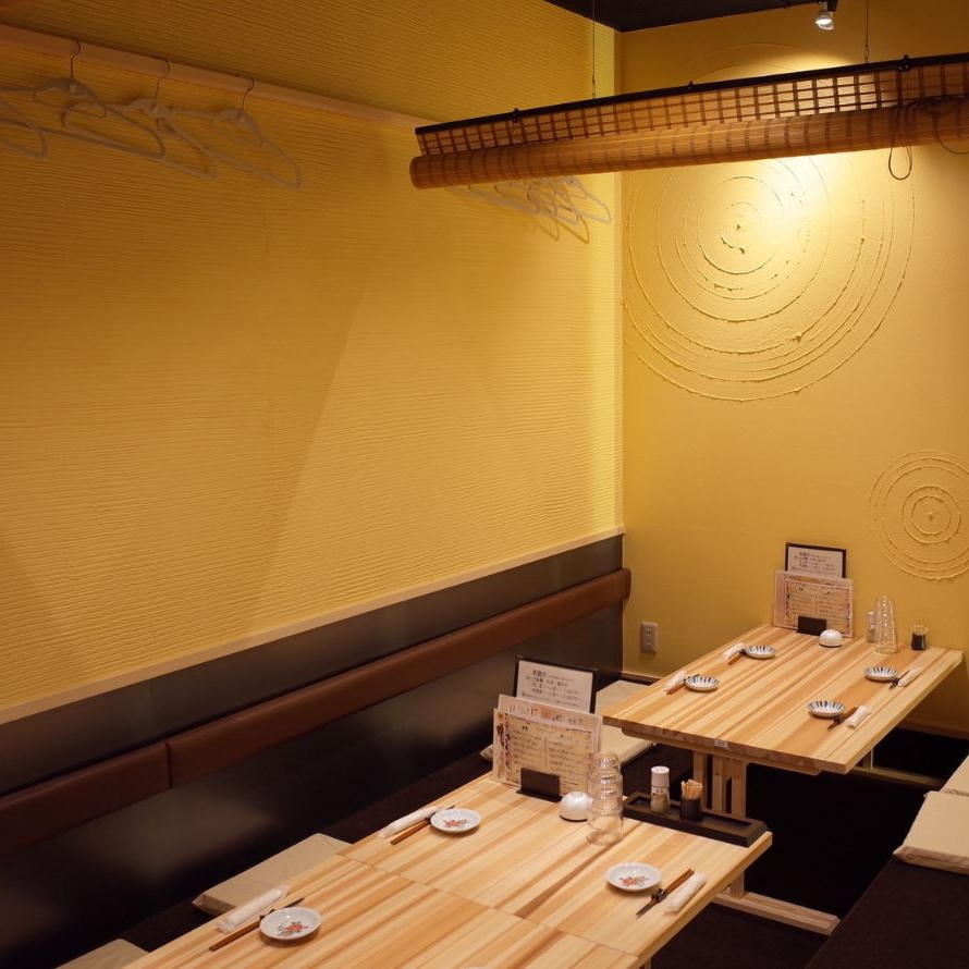 A digging dinner space is toasting for 4 or 6 people.It is also recommended for banquet use of 24 people in total.