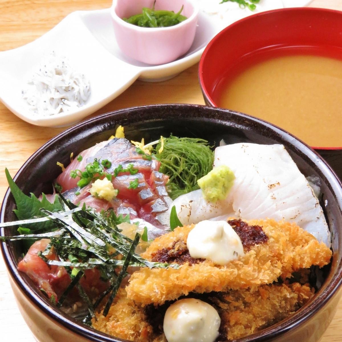 早上放養魚的簡單午餐