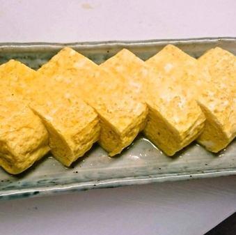 鶏ガラスープの卵焼(れいほく産卵使用)