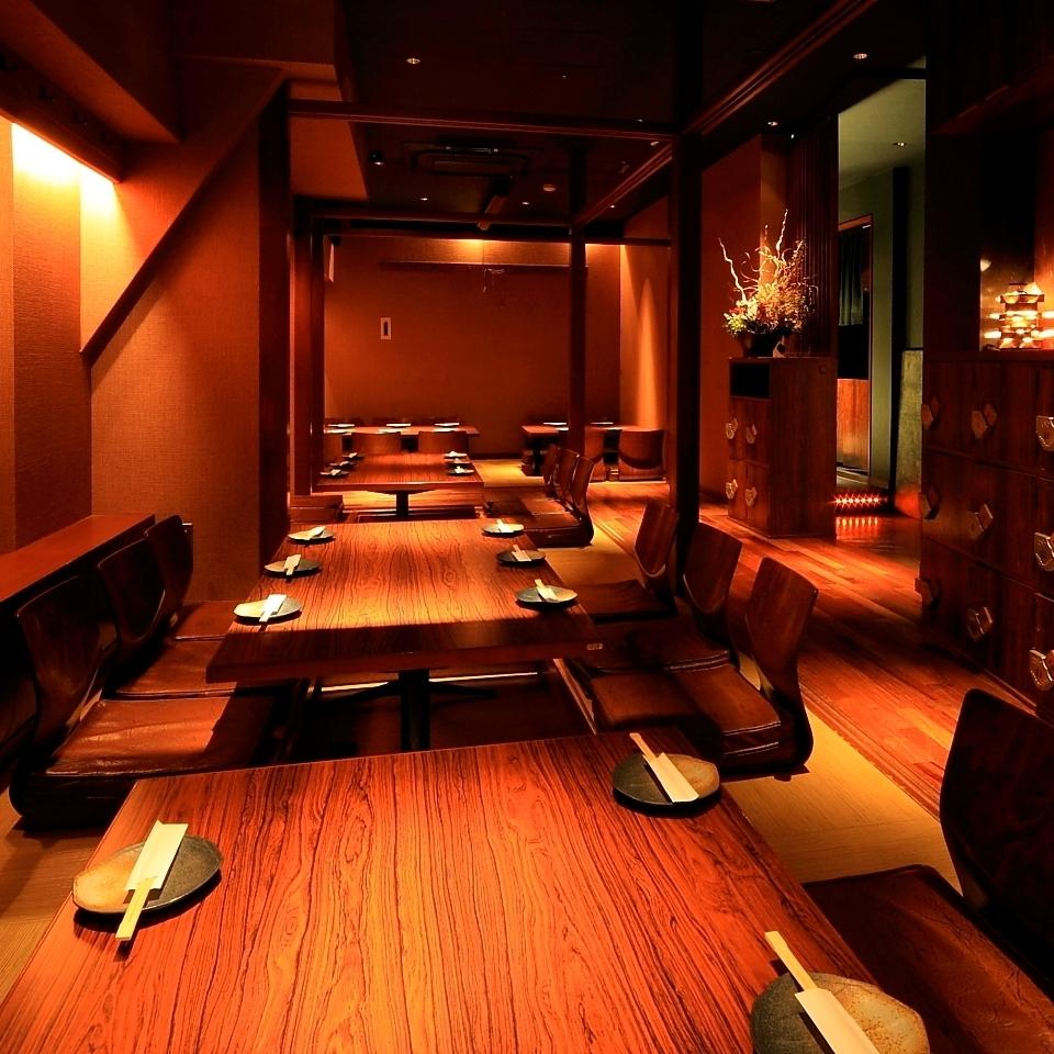您可以放松并享受美好时光。它也是三宫站的酒吧,也被推荐用于娱乐和约会,女孩协会,周年纪念等。♪请享受我们特别的日本料理和创意菜肴。我在等着用!