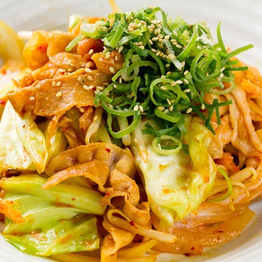 Pork kimchee