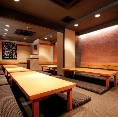 Semi-private room type that can accommodate up to 15 people! ♪ perfect for banquets and girls' societies Chofu / pub / private drinks / Japanese sake / private room / private room / course / sashimi / fish / meat / tasty