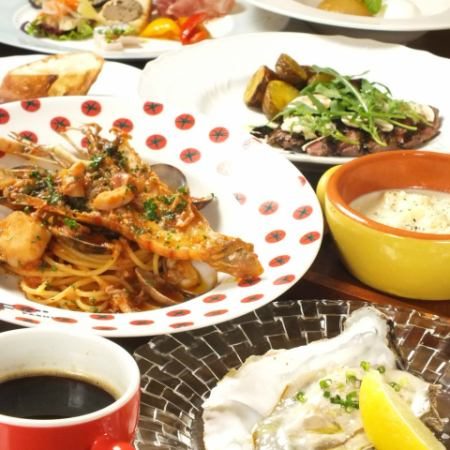 Fereritobo's Random Course Luna 【Authentic Italian course to enjoy the seasonal taste】 5000 yen