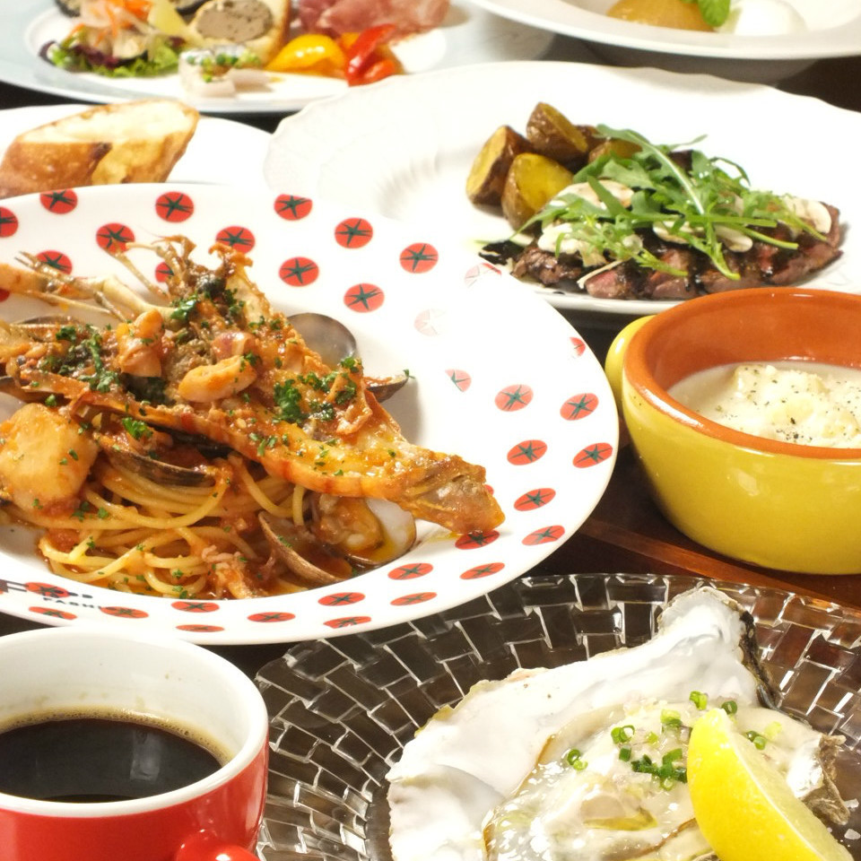 Even for dinner! Fried link · Party plan abundant ☆