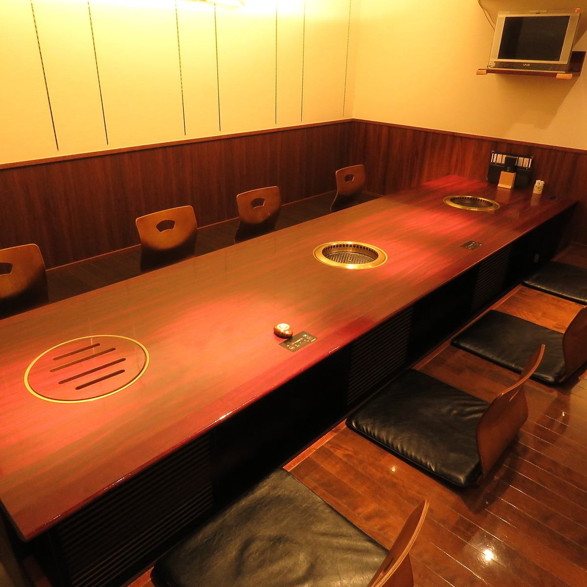 Digg up all the seats Up to 28 people in a private room.Various parties are by all means Sachi.