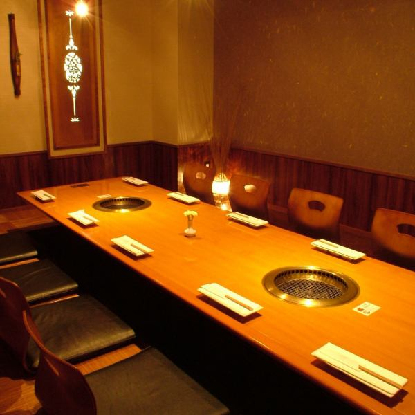 [Private room (large)] is a private room of a little spread.It offers a large number of the room to match the number of people.