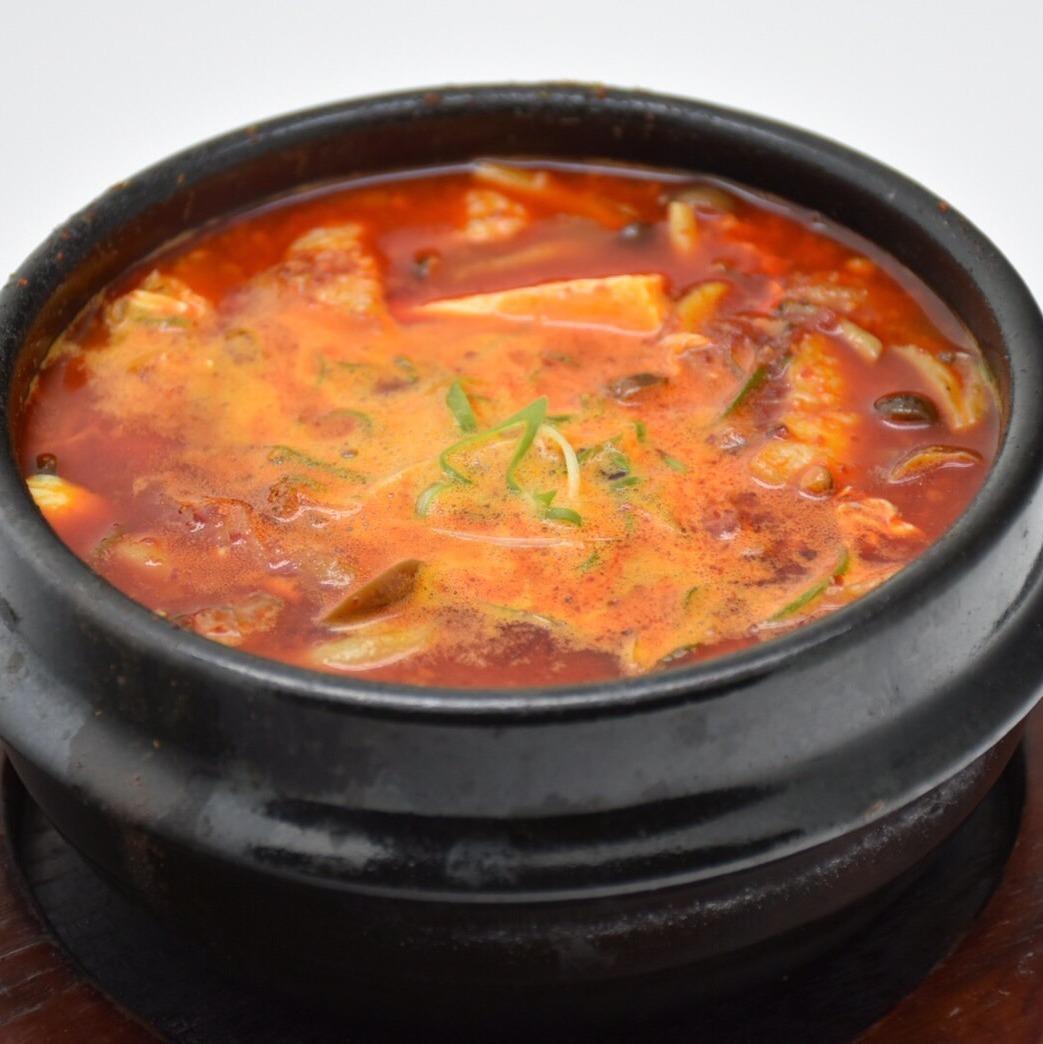 Sundubu soup