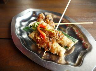 朴绕组猪肉串
