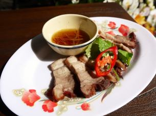 Barbecued pork of Vietnam