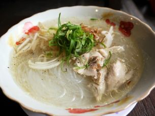 Mienga (chicken soup vermicelli)