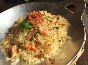Vietnamese crab fried rice