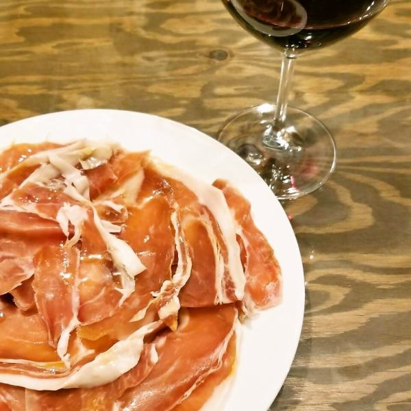All-you-can-eat with Italian-made ham 60 minutes!