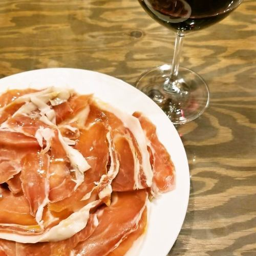 All-you-can-eat with Italian-made ham 60 minutes! 【500 yen (tax included)】