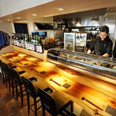 ◆ We are preparing for the couple and the counter seat which is perfect for the couple and the one ♪ to a cup full of dating and work.It is also recommended for drinking and sac drinking on the way home from work, it is also recommended for the 0th meeting and the 2nd party! Enjoy the performance of the realistic cuisine in front of you through the counter ♪ <Shibuya Izakaya Japanese Girls Association Date Dates Birthday All you can drink private room>