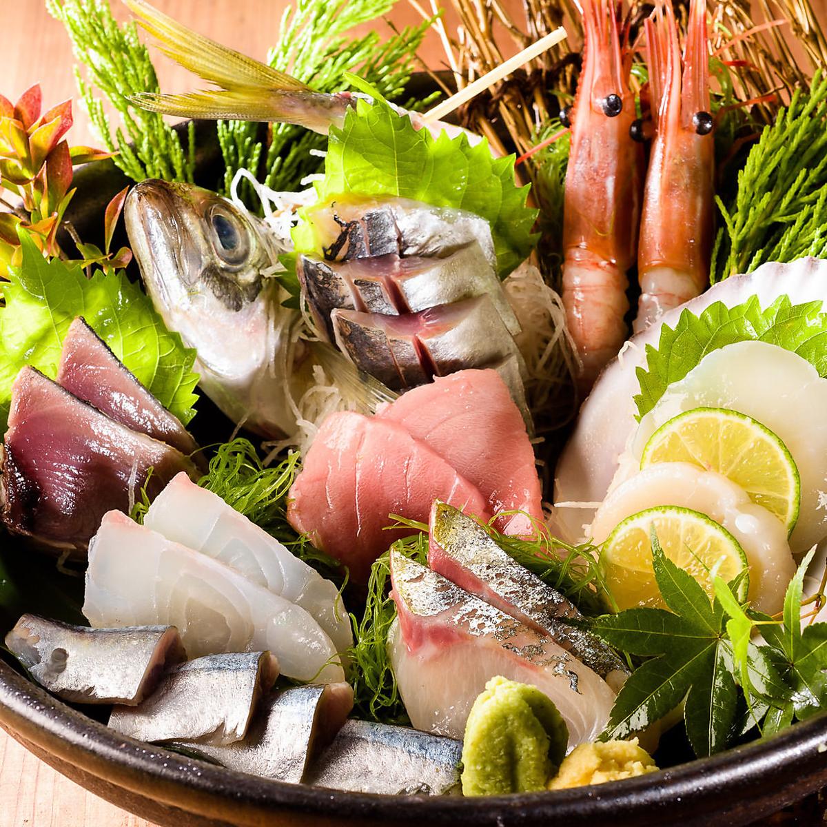 Use fresh ingredients in season ◎