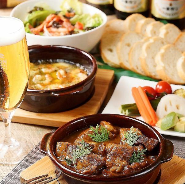 三宮麦酒の肉料理!種類豊富なビールにピッタリの肉料理の豪華なラインナップ!680円~