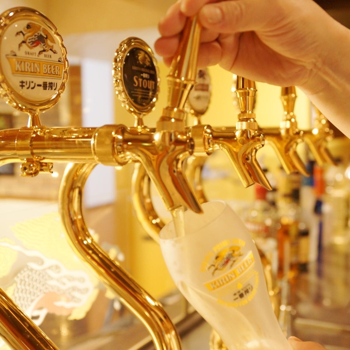 一番搾りコラボショップの誇りをかけたの麦酒(ビール)!