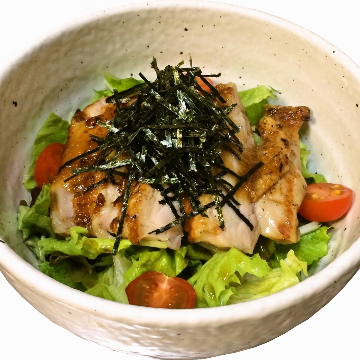鸡日式沙拉