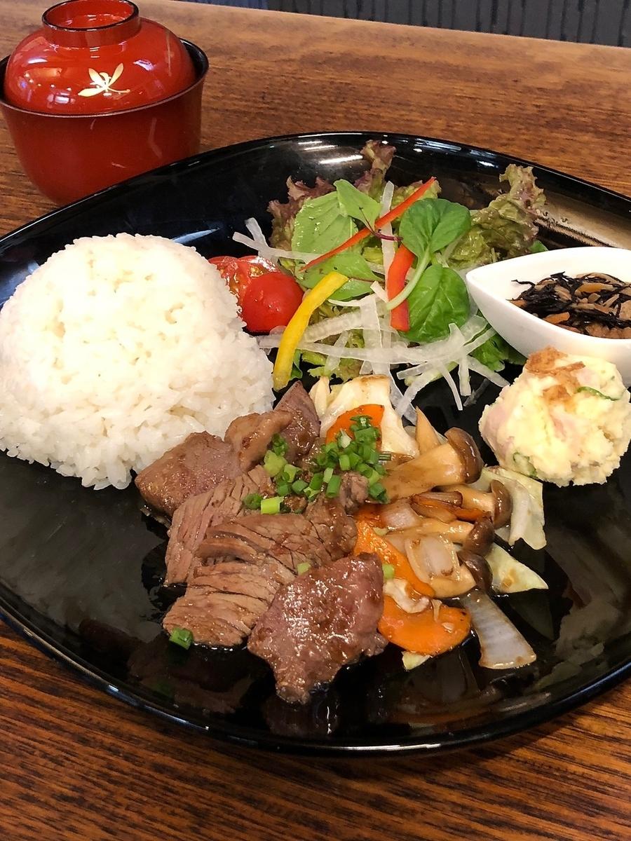 黑毛和牛牛肉【日式燒烤盤午餐】肉80克