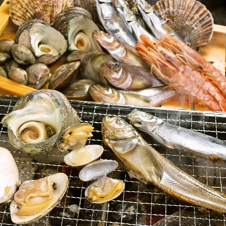 【魚菜單】全國各地的明石鮮魚和海鮮食材260日元〜