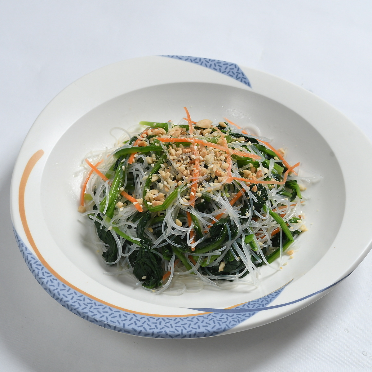 Spinach and savory rice