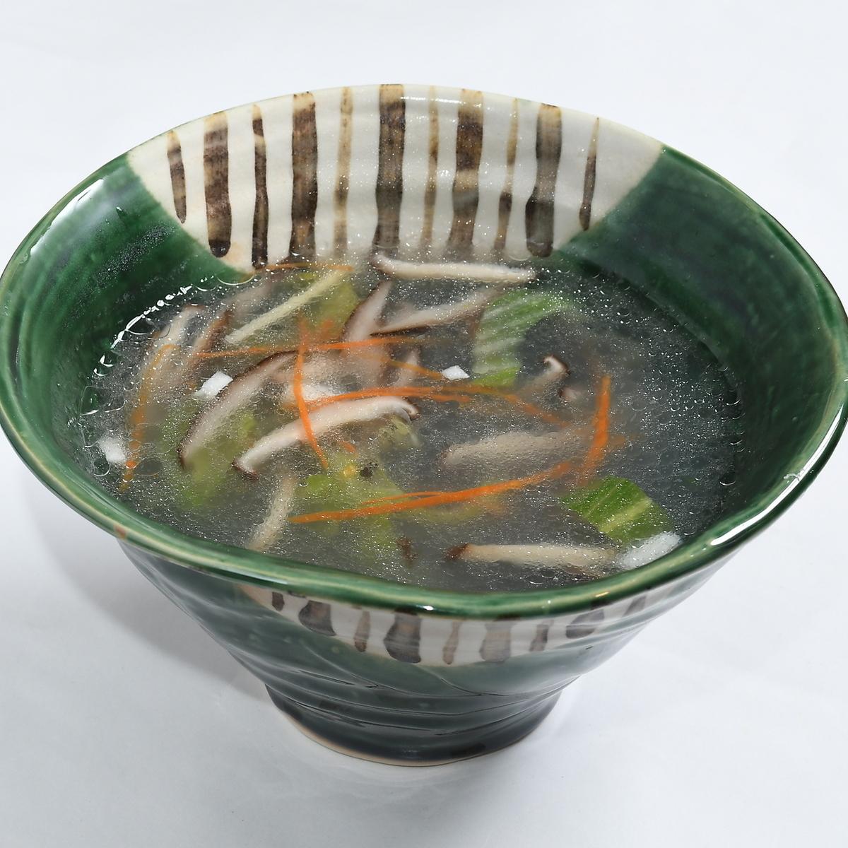 Seafood vegetable soup