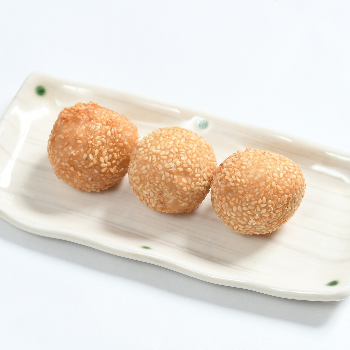 Sesame dumplings